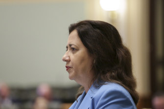 """Premier Annastacia Palaszczuk said the four emails had been examined by the Crime and Corruption Commission and """"they found no impropriety, nothing of interest whatsoever in any of them""""."""
