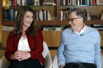Microsoft co-founder Bill Gates and his wife Melinda were married for 27 years.