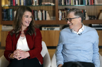 Microsoft co-founder Bill Gates and his wife Melinda always seemed a stable, happy union.