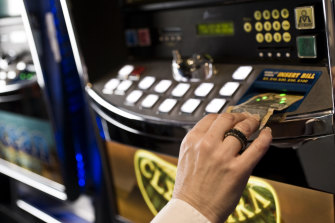 The NSW government is considering the transfer of 1000 poker machines to the Star casino.