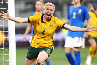 Matildas back with a bang with win against Brazil