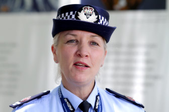 Then-assistant commssioner Katarina Carroll took a leading role in preparations for 2014's G20 summit in Brisbane.