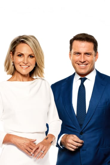 Best of friends: Georgie Gardner and Karl Stefanovic continue to host Today as ratings take a nose-dive.