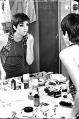 Liza Minnelli in her dressing room at Chequers, June 19, 1968.