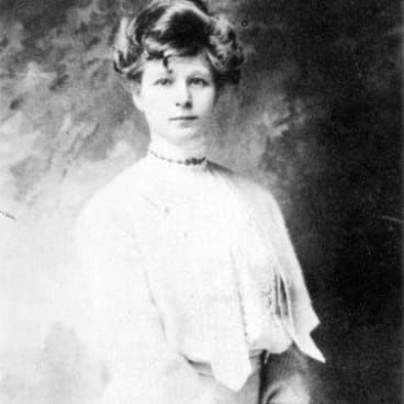 Frieda, the wife of writer D.H. Lawrence, longed for her maiden name, von Richthofen