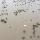 The scale of the floods in the state's north-west.