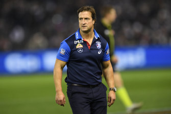 Luke Beveridge can't afford to let his boys lose sight of each week.