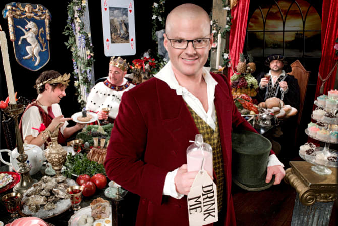 Turning back time in Heston's Feasts.