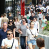 Foreigners flock to Brisbane in record numbers, bringing their billions