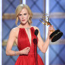 Kidman dedicates Emmy win to daughters, calls out domestic abuse