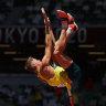 Moloney closing in on breakthrough decathlon medal