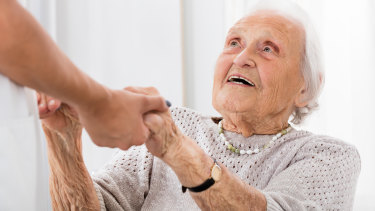 There are not enough staff at aged care facilities to give all residents the attention they need.