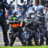 Construction industry to be shut down for two weeks after clashes at CFMEU