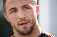 Sam Burgess will have to front court next month.