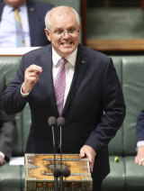 "Prime Minister Scott Morrison was ""appalled and shocked"" by the watch purchase revelation."