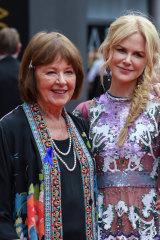 Nicole and Janelle Kidman in Sydney last year.