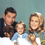 Dick York and Elizabeth Montgomery in Bewitched. He was replaced by Dick Sargent.