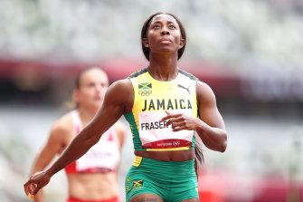 Jamaican great Shelly-Ann Fraser-Pryce.