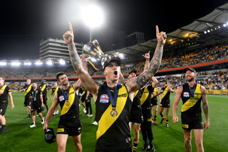 Turn the lights on? The AFL is considering the future possibility of night grand finals.