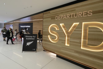 There were 1.54 million total passengers through Sydney Airport last month.
