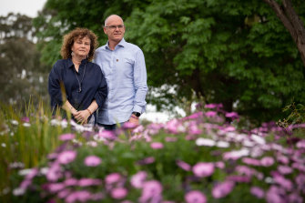 Matt and Robyn Cronin this month. Their youngest son Pat (19) died from a fatal punch thrown in a bar brawl in 2016.