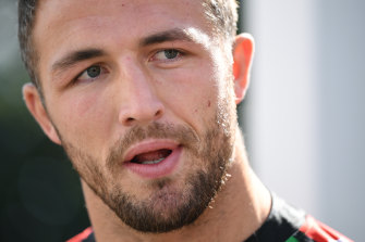 Sam Burgess didn't hold back when asked about the NRL judiciary process.