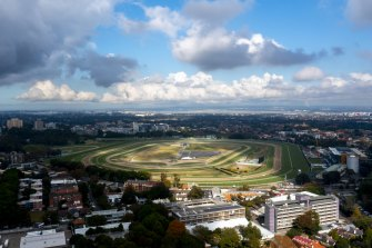 Randwick racecourse could be used as landing zone for parachuting.