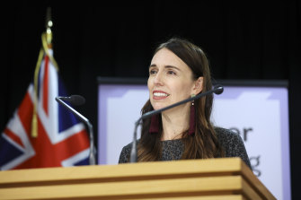 New Zealand Prime Minister Jacinda Ardern announced the trans-Tasman bubble on Tuesday.