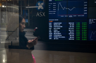 The local bourse closed at a fresh record high on Wednesday.