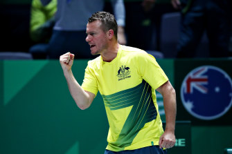 Lleyton Hewitt wasn't a fan of the revamped Davis Cup, compared to the ATP Cup.