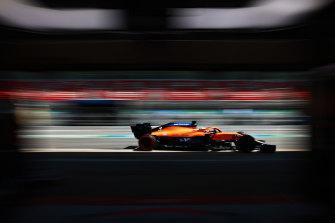Daniel Ricciardo during qualifying for the Spanish Grand Prix.