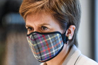Scotland's First Minister Nicola Sturgeon and her government have taken a more cautious approach to coronavirus than the British government led by Prime Minister Boris Johnson.