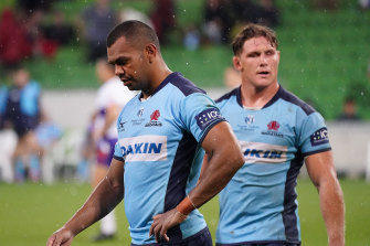 Kurtley Beale and Michael Hooper will cop a huge pay cut as part of the players' deal with Rugby Australia.