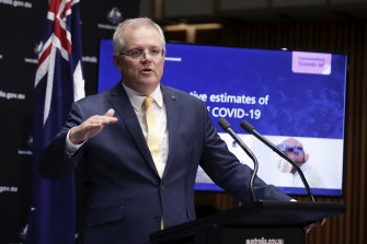 Roughly 1 million more Australians must download the coronavirus contact tracing app to reach the Prime Minister's target.