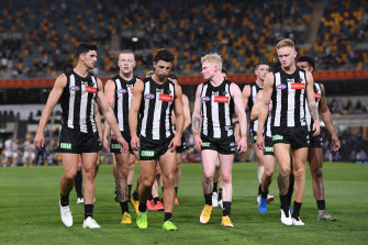 Trading decisions at Collingwood have angered fans.