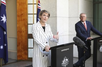 Attorney-General Michaelia Cash and Prime Minister Scott Morrison have released the government's long-awaited response to a report on ending workplace sexual harassment.