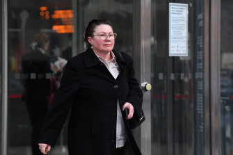 Rosa Rossi outside court in June.
