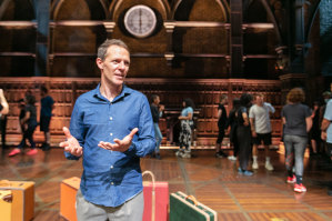 Gareth Reeves at rehearsals for the reopening of Harry Potter and the Cursed Child at the Princess Theatre.