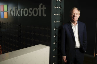 Brad Smith, president of Microsoft said more regulation is inevitable.