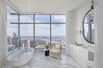 The $66m Boyd Tower is also of interest to overseas buyers.
