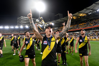 Richmond were premiers in a very strange year for football.