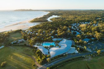 Elements of Byron resort (pictured) has been inundated with bookings.