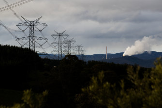 The Mount Piper power plant, near Lithgow, could be among the last coal plants in eastern Australia. It is scheduled to close in 2043.