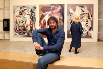 Ben Quilty will be celebrated at the Art Gallery of NSW until February 2.