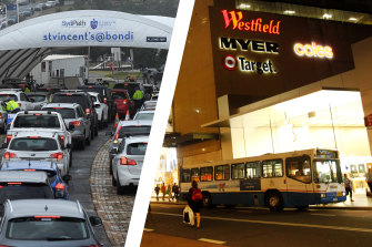 A man who visited Bondi Junction Westfield last weekend has tested positive to COVID-19.