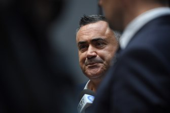 Support for John Barilaro as Nationals leader faces a serious test.