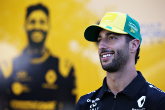 Daniel Ricciardo's contract with Renault runs out at the end of 2020.
