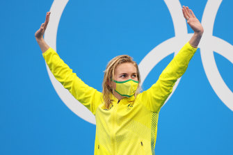 Ariarne Titmus stops the Games and unlocks hearts across the nation