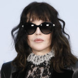 Isabelle Adjani is effortlessly cool at the Chanel show in Paris this October.