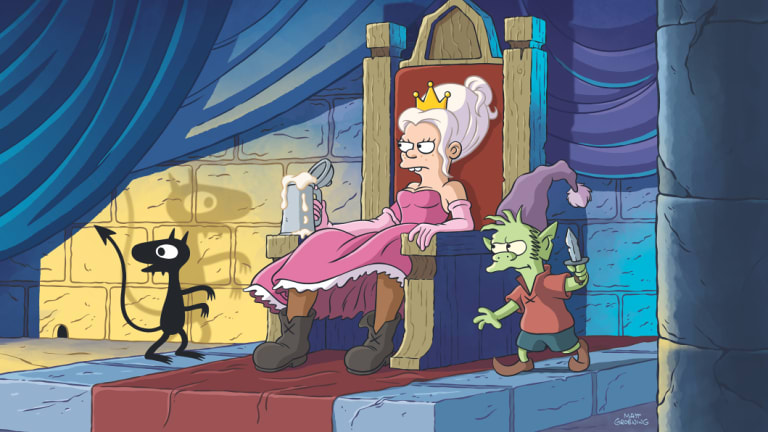 Disenchantment airs on Netflix from August 17.